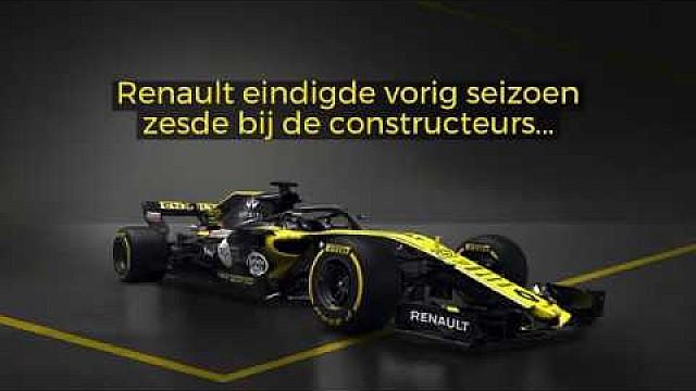 Formule 1 Presentaties F1 2018: Renault R.S.18