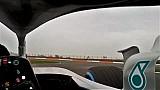 Caméra embarquée à bord de la Mercedes F1 W09