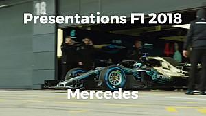 Présentations F1 2018 - Mercedes