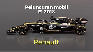 Peluncuran Renault R.S.18 - F1 2018