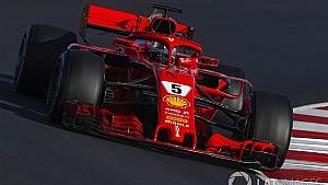 Resumen del quinto día de test de pretemporada 2018 de F1 - ESP