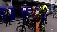 Kecelakaan Valentino Rossi di FP3 Qatar