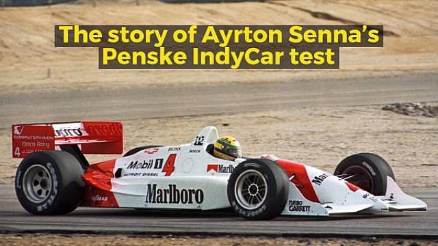 IndyCar Racing Stories: Senna's IndyCar test
