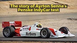 Rückblick: Ayrton Senna testet IndyCar