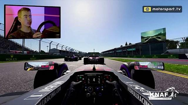 Formule 1 Onboard: Verken Albert Park met Richard Verschoor