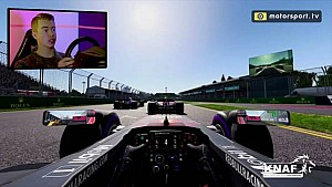 Onboard: Ronde met Richard Verschoor over Albert Park