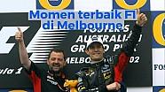 Momen terbaik F1 di Melbourne