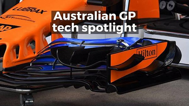 Formula 1 Australian GP tech spotlight