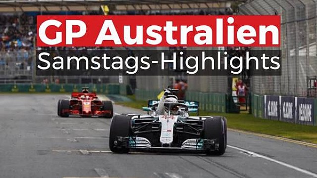 GP Australien: Samstags-Highlights