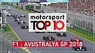 F1 TOP 10: 2018 Avustralya GP