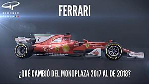 Motorsport Shorts: cambios en el monoplaza de Ferrari