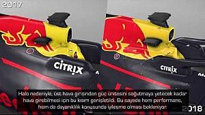 F1 2018 - Red Bull RB14 vs RB13