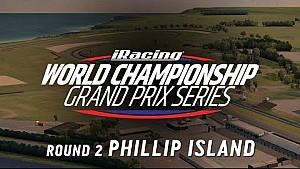 Championnat du monde iRacing - Manche 2 - Phillip Island