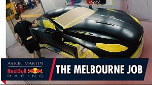 Daniel Ricciardo and Max Verstappen's custom Aston Martin DB11s