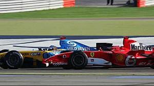 Bahreyn GP mücadeleleri ve kazaları