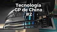 Motorsport Shorts: tecnología en los monoplazas para el GP de China II