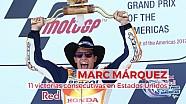 Las 11 victorias consecutivas de Marc Márquez en EEUU