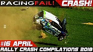 Racing and rally crash compilation week 16 April 2018