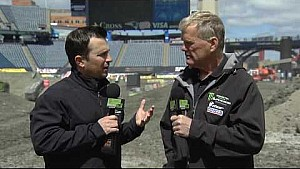 Official track feature - Foxborough - Race day live 2018