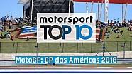 Top 10 MotoGP: GP das Américas 2018