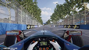 Formula E - Paris Hotlap with Virtuallylive
