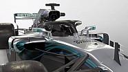 F1-Autos 2018 ohne Halo