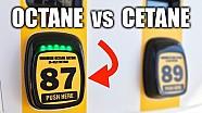 Octane vs cetane number - gas vs diesel
