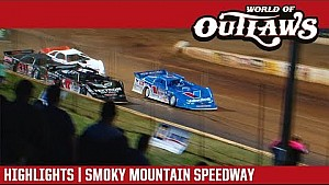 World of Outlaws Craftsman late models Smoky Mountain speedway April 28, 2018 | Highlights