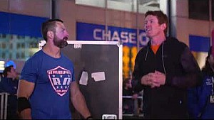 Scott Dixon on American Ninja warrior