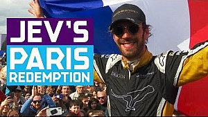 JEV's Paris redemption - Vergne becomes a hometown hero!