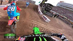 Adam Cianciarulo main event 2018 Monster Energy Supercross from Salt Lake city