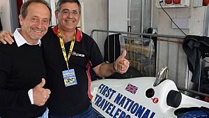 Pier Luigi Martini all'Historic Minardi Day