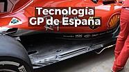 Motorsport Shorts: tecnología en los monoplazas para el GP de España