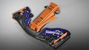Il nuovo muso della McLaren