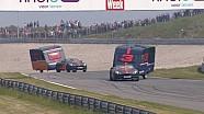 Cómo Verstappen y Ricciardo destruyen su caravana en el Circuito Zandvoort