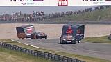 Hoe Verstappen en Ricciardo op Circuit Zandvoort hun caravan vernietigen
