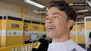 De Vries geniet van eerste meters met LMP2-bolide