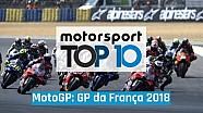MotoGP: Top 10 GP da França 2018