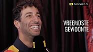 Vragenvuur: Daniel Ricciardo