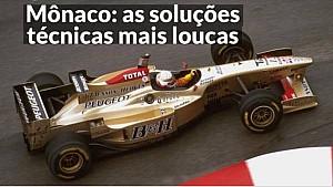 VÍDEO: As soluções técnicas mais loucas para o GP de Mônaco