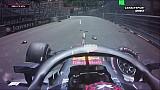 Le crash de Verstappen en EL3 à Monaco