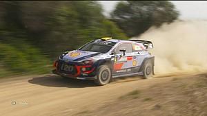 WRC Sardinië - Hoogtepunten Dag 3