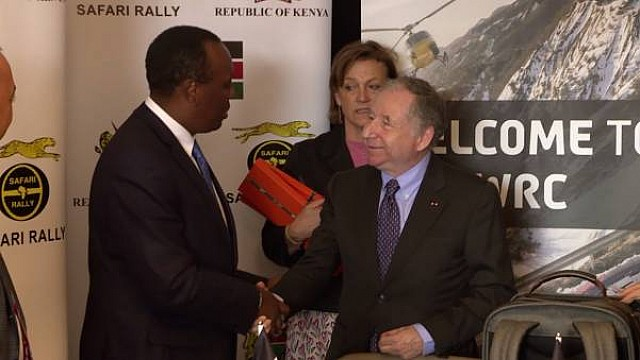 Presentazione Safari Rally in 2020