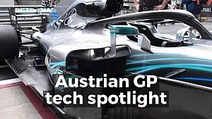 Austrian GP tech spotlight